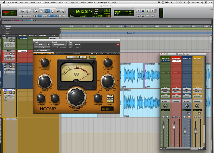 Audio Recording Protools